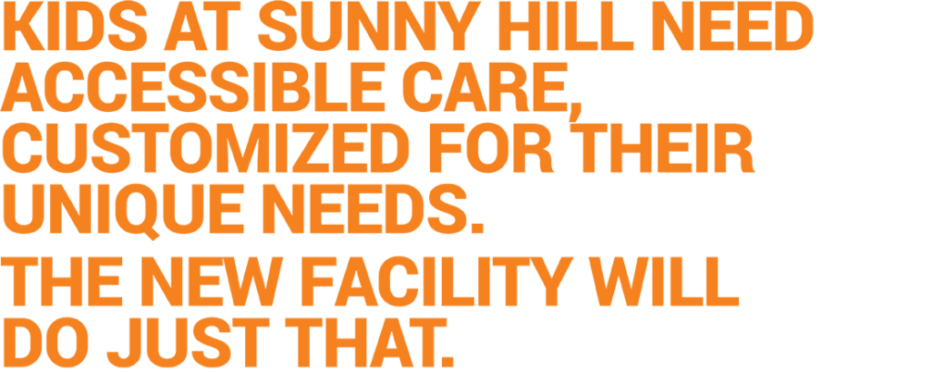 Sunny Hill section header AR