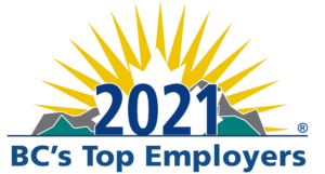 2021 BC's Top Employer logo