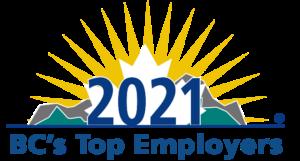 2021 BC's Top Employer logo