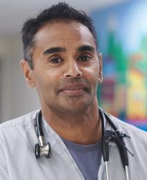 Dr. Shubhayan Sanatani, division head of cardiology at BC Children's Hospital